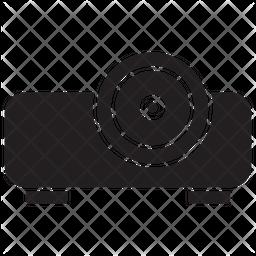 Projector Glyph Icon