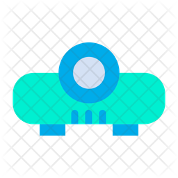 Projector Flat Icon