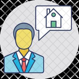 Property Agent Icon