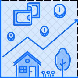 Property Chart Icon