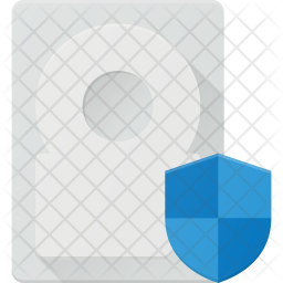 Protect hard-disk Icon