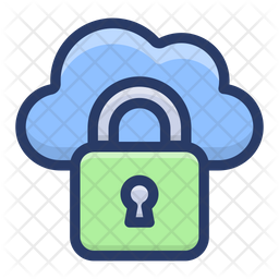 Protected Cloud Hosting Icon