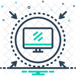 Protected Computer Icon