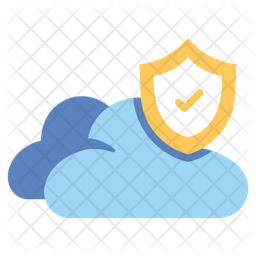 Protection Cloud Server Icon