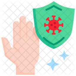 Protection from virus Flat Icon