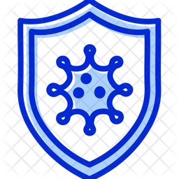 Protection from virus Colored Outline Icon