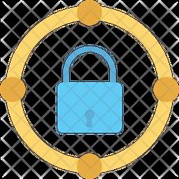 Protection Lock Icon