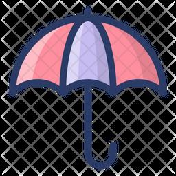 Protective Umbrella Icon