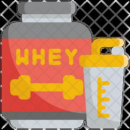 Protein Powder Icon