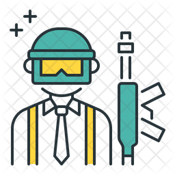 Pubg Icon Of Colored Outline Style Available In Svg Png Eps Ai Icon Fonts
