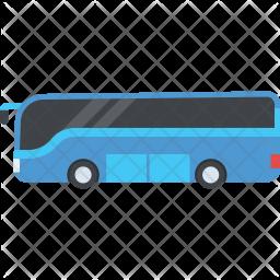 Public Transport Flat Icon