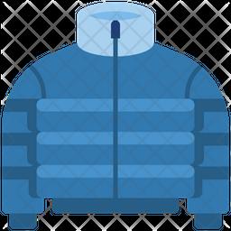 Puffer Jacket Icon