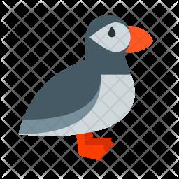 Puffin bird Icon