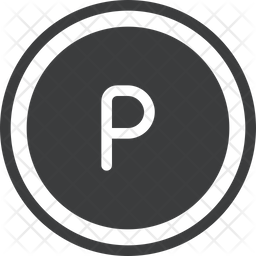 Pula Glyph Icon