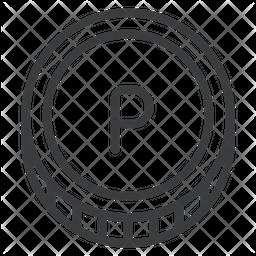 Pula Line Icon