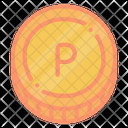 Pula Colored Outline Icon