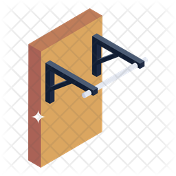 Pull up Rod Icon