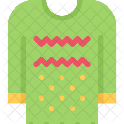 Pullover, New, Year, Christmas, Winter, Holidays Icon png