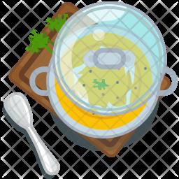 Pumpkin soup Icon