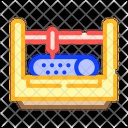 Punching Machine Icon
