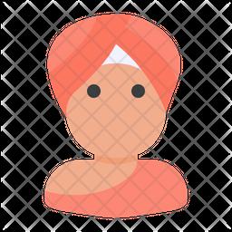 Punjabi Flat Icon