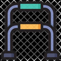 Push Up Bar Icon