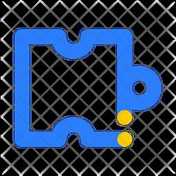 Puzzel Line Icon