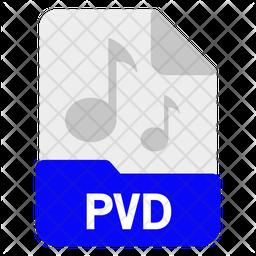 Pvd file Icon
