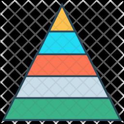 Pyramid Chart Icon