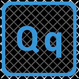 Q alphabet Icon
