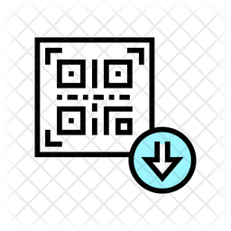 Qr download Icon
