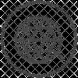 Qtum Line Icon