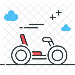 Quadracycle Icon
