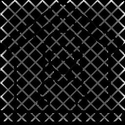 Quarantine Line Icon
