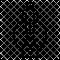 Quarantine Person Icon