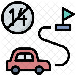 Quarantine Stop Icon