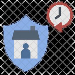 Quarantine Time Icon