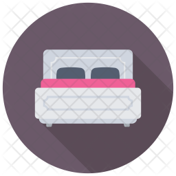 Queen Bed Icon