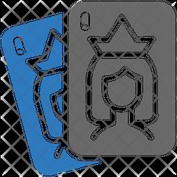 Queen Card Icon