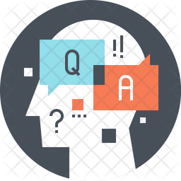 Premium Question Icon download in SVG, PNG, EPS, AI, ICO ...