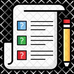 Questionnaire Icon