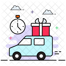 Quick Delivery Icon