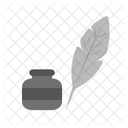 Quill Flat Icon