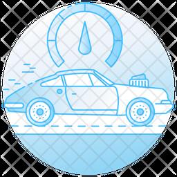 Racing Car Speed Icon