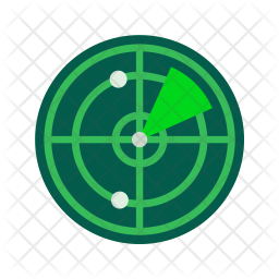 Radar Icon Of Flat Style Available In Svg Png Eps Ai Icon Fonts