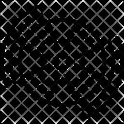 Radiation Line Icon