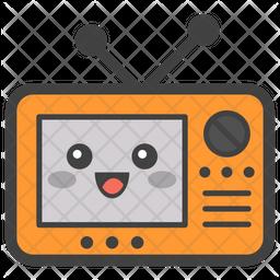 Radio Emoji Icon