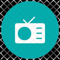 Radio Glyph Icon