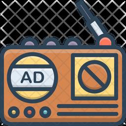 Radio Advertising Icon