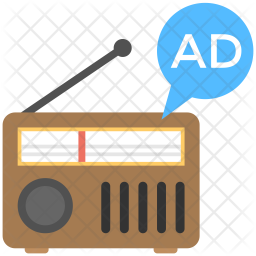 Radio Marketing Icon